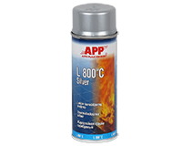 APP L 800°C Silver Spray Heat-resistant paint