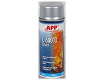 APP L 800°C Silver Spray Lakier żaroodporny