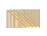 APP MMini 1000 Jednorazowe mieszadełka drewniane do lakieru