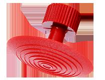 NTools TAB 6 Grzybek sferyczny okrągły d32 czerwony