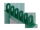 APP LWK 3 Listwa wyciągająca zielona półokrągła