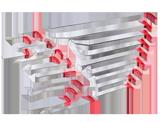 NTools PDR STANDARD Zestaw 21 przyrządów do usuwania wgnieceń
