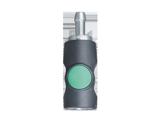 APP SZP 5 Gniazdo szybkozłączki samo rozprężającej się do bezpiecznego rozłączania i tuleją 9 mm do węża