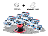 APP QUARTZ RS 25 Zestaw materiałów ściernych (1000 szt.)