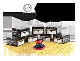 NTools HMF7 Zestaw materiałów ściernych (750 szt.)