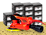 NTools APP HMF7 ROS SET Zestaw materiałów ściernych (1300 szt.)