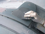 APP Alu Poly Plast Szpachla z pyłem aluminium