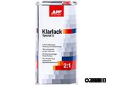 APP Klarlack Spezial S 2:1+Harter Lakier bezbarwny akrylowy dwuskładnikowy z efektem specjalnym + utwardzacz