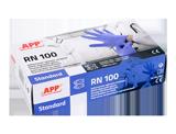 APP RN 100 STANDARD Jednorazowe rękawice nitrylowe CE