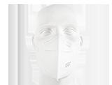 APP KN95 Maska ochronna 4-warstwowa FFP2 jednorazowego użytku