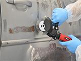 NTools SA 8516PNK Pneumatyczna szlifierka do usuwania rdzy i naklejek