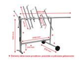 NTools Standard Stojak obrotowy lakierniczy do elementów