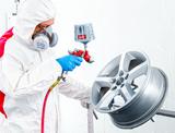 NTools RIM GRIP Uchwyt z zaciskiem do lakierowania felg samochodowych