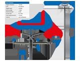 NTools ZUR Zaczep uniwersalny regulowany do stojaka obrotowego (z pokrętłem)