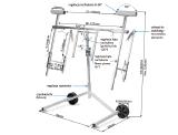 NTools Multi Stand Pro Wielofunkcyjny stojak obrotowy do lakierowania
