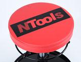 NTools MSW 50 Mobilne siedzisko warsztatowe z regulacją wysokości