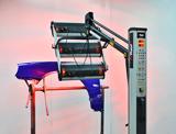 NTools FDS 3300 Promiennik 3x1,1kW z wyłącznikiem czasowym i regulacją mocy, na wysięgniku teleskopowym