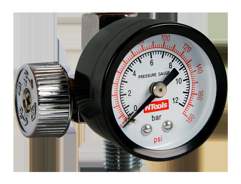 NTools MANO 9 Regulator powietrza z manometrem