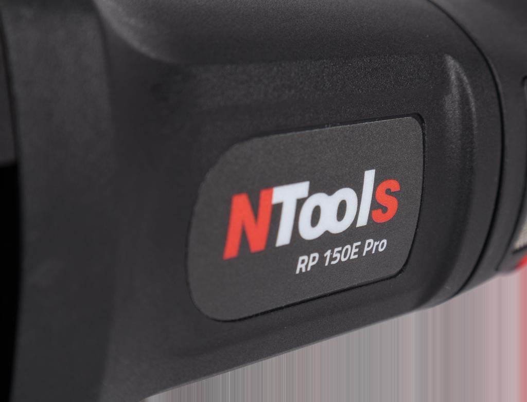 NTools RP 150E Pro Profesjonalna polerka elektryczna rotacyjna