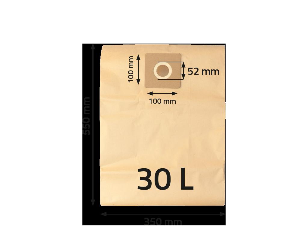 NTools WF30 Worek papierowy na pył do VC30Eco
