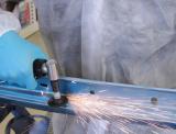 NTools PSK Pneumatyczna szlifierka kątowa z uchwytem gumowanym